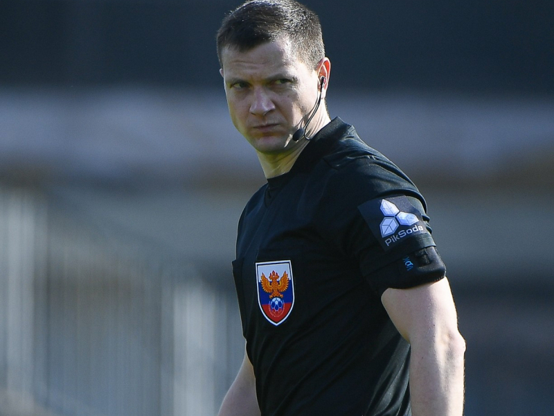Иван Сиденков – главный арбитр матча «Уфа» vs «Локомотив»